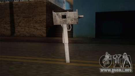 Uzi de Max Payne para GTA San Andreas tercera pantalla