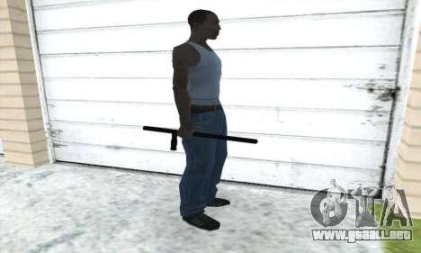 Porra telescópica para GTA San Andreas tercera pantalla