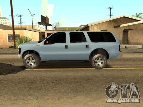 Ford Excursion para GTA San Andreas left