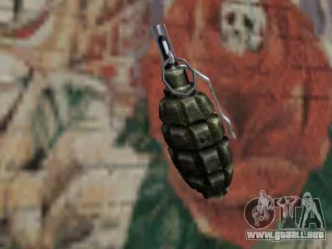 Granada de S.T.A.L.K.E.R. para GTA San Andreas segunda pantalla