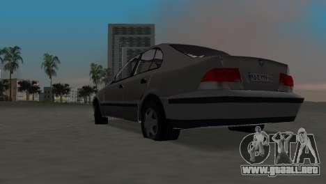 Samand para GTA Vice City visión correcta