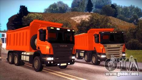 Scania P420 para la visión correcta GTA San Andreas