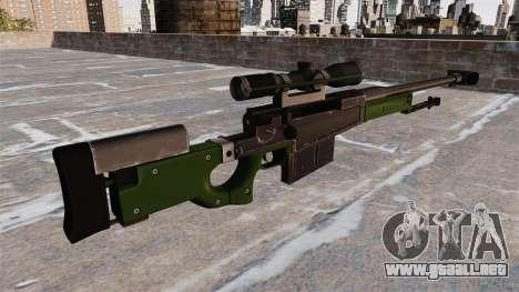 Rifle de francotirador AW50F para GTA 4 segundos de pantalla