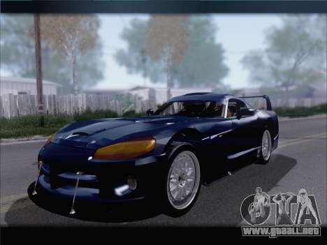 Dodge Viper Competition Coupe para GTA San Andreas left