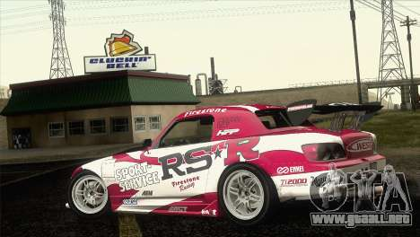 Honda S2000 RS-R para GTA San Andreas left