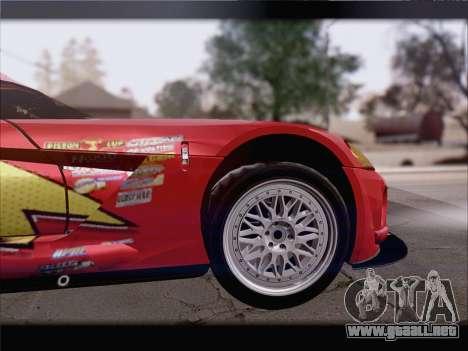 Dodge Viper Competition Coupe para GTA San Andreas interior