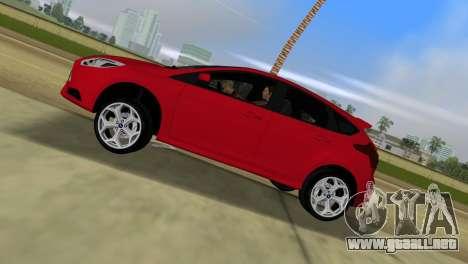 Ford Focus ST 2013 para GTA Vice City vista lateral izquierdo