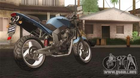 Ducati FRC900 v3 para GTA San Andreas left