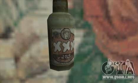 Cóctel Molotov de Saints Row 2 para GTA San Andreas segunda pantalla