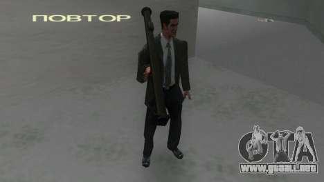 Bazuca de MoH: AA para GTA Vice City tercera pantalla
