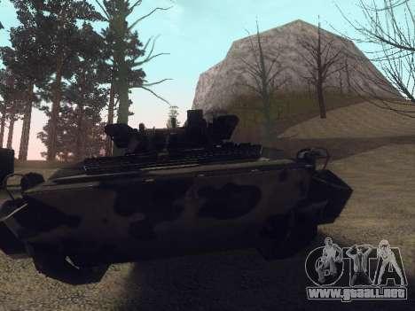 BMP-2 para visión interna GTA San Andreas