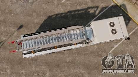 MTL Firetruck MDH1000 Midmount Ladder [ELS] para GTA 4 visión correcta
