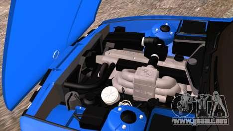BMW 535i E34 Mafia Style para la vista superior GTA San Andreas