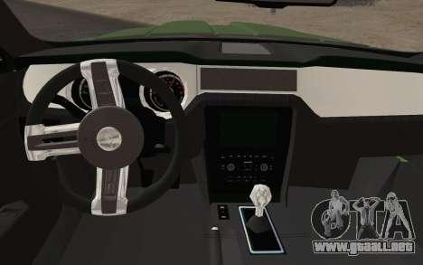 Ford Mustang GT 2013 para la visión correcta GTA San Andreas