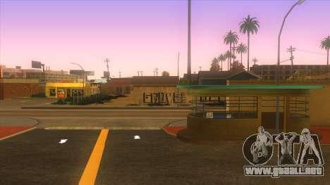 Estación de autobuses, Los Santos para GTA San Andreas sucesivamente de pantalla