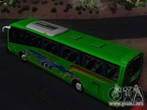Irizar Mercedes Benz MQ2547 Alabat Liner para la vista superior GTA San Andreas