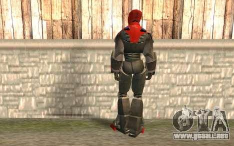 Iron Man para GTA San Andreas segunda pantalla