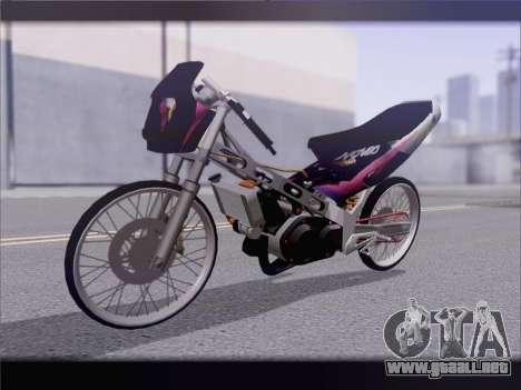 Suzuki Satria FU para GTA San Andreas
