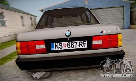 BMW M3 E30 para GTA San Andreas interior