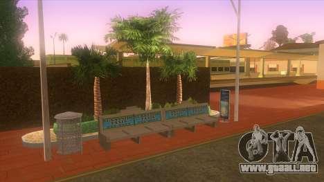 Estación de autobuses, Los Santos para GTA San Andreas sexta pantalla