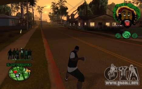 Con 4Life surco-HUD St para GTA San Andreas