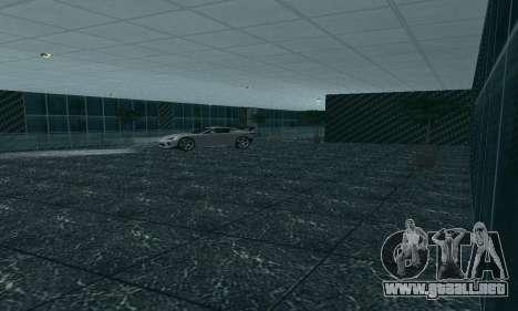 Nuevo showroom en cabello para GTA San Andreas sexta pantalla