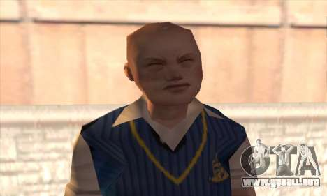 Jimmy Hopkins para GTA San Andreas tercera pantalla