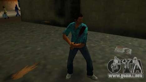 Bate de béisbol ensangrentado para GTA Vice City tercera pantalla