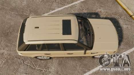 Range Rover Sport Unmarked Police [ELS] para GTA 4 visión correcta