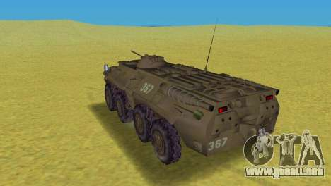 BTR-80 para GTA Vice City vista lateral izquierdo