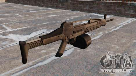 Automático HK XM8 LMG v2.0 para GTA 4 segundos de pantalla