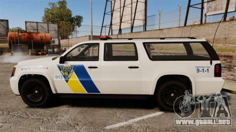 GTA V Declasse Police Ranger LCPD [ELS] para GTA 4 left