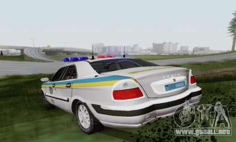 GAS-3111 Miliciâ Ucrania para la visión correcta GTA San Andreas