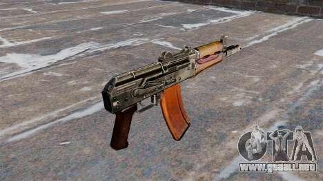 Culata AKS74U automático para GTA 4 segundos de pantalla