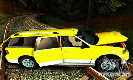 Landstalker GTA IV para vista inferior GTA San Andreas