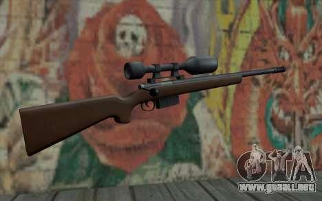 Sniper Rifle HD para GTA San Andreas segunda pantalla