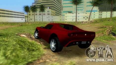 Lotus Elise para GTA Vice City vista lateral
