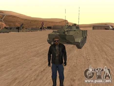 BMP-3 para GTA San Andreas vista hacia atrás