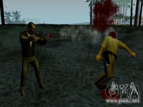 Trevor Phillips para GTA San Andreas sucesivamente de pantalla