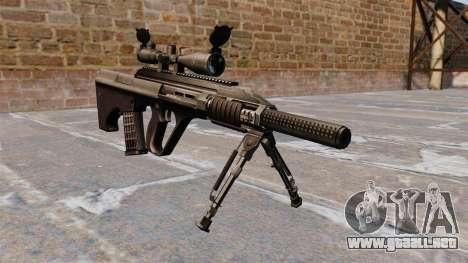 Fusil automático Steyr AUG3 para GTA 4