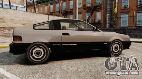 Blista CRX para GTA 4 left