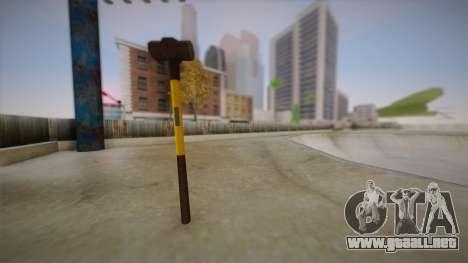Sledge Hammer para GTA San Andreas