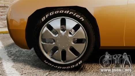 Ford Forty Nine Concept 2001 para GTA 4 vista hacia atrás