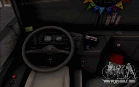 Samotlor-NN-5295 (MAZ 103.075) para la visión correcta GTA San Andreas