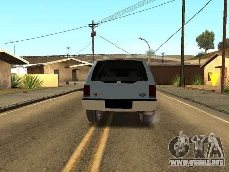 Ford Excursion para la visión correcta GTA San Andreas