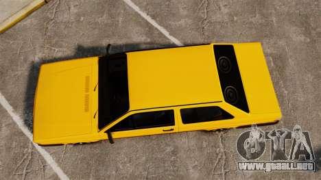 Volkswagen Voyage 1990 para GTA 4 visión correcta