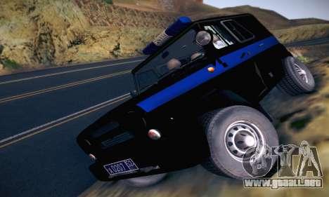 Policía UAZ Hunter para GTA San Andreas
