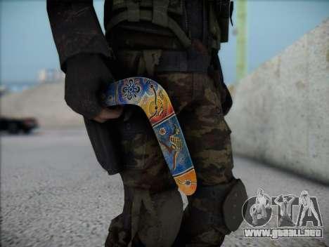Boomerang para GTA San Andreas tercera pantalla