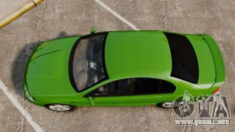 Ford Falcon XR8 para GTA 4 visión correcta