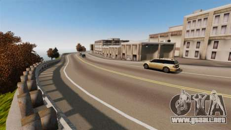 La ciudad sin nombre para GTA 4 adelante de pantalla